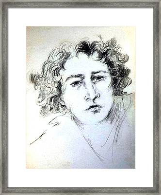 Dream Boy Framed Print