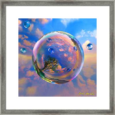 Dream Bubble Framed Print by Robin Moline