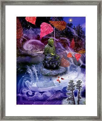 Dream Buddha Framed Print
