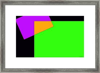Dream Builder Three Framed Print by Sir Josef - Social Critic - ART