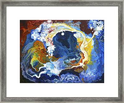 Dream By The Tree Framed Print by Valerie Graniou-Cook