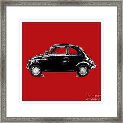 Dream Car Red Framed Print