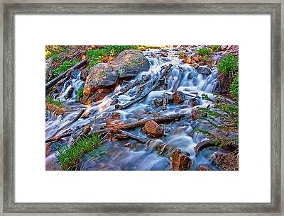Dream Cascade Framed Print by Brian Kerls