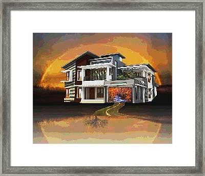 Dream Framed Print by Cassia Fernandes