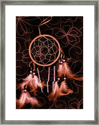Dream Catcher Framed Print by Anne-Elizabeth Whiteway