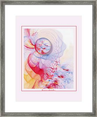 Dream Catcher Framed Print by Gayle Odsather