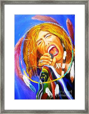 Dream Catcher Framed Print by To-Tam Gerwe