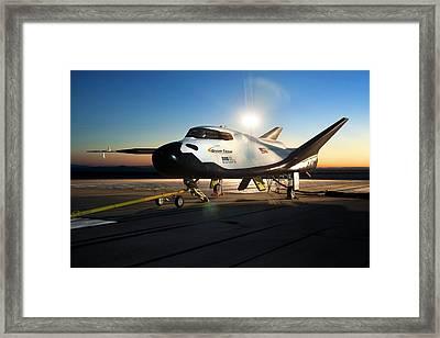 Dream Chaser Spaceplane Testing Framed Print by Nasa