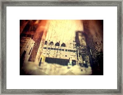 Dream City Framed Print by Susan Stone