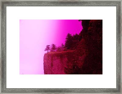 Dream Cliff Framed Print by Jeff Swan