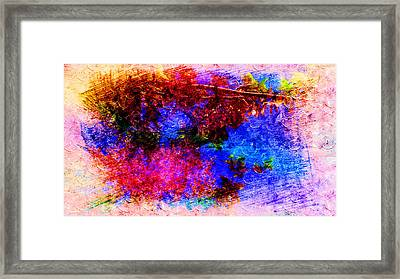 Dream Colors In The Spring Framed Print