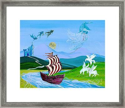Dream Cruise Framed Print