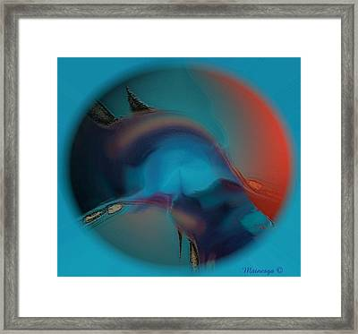 Dream  Eye Framed Print
