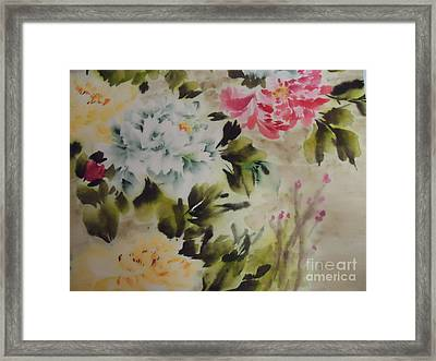 Dream  Flower 0727-4 Framed Print