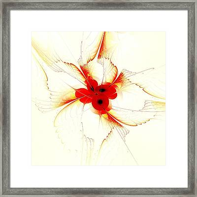 Dream Flower Framed Print by Anastasiya Malakhova
