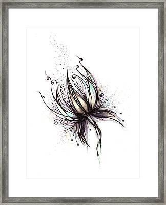 Dream Flower Framed Print