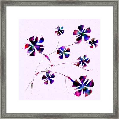Dream Flowers Framed Print by Anastasiya Malakhova