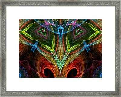 I Dream Flowers Framed Print