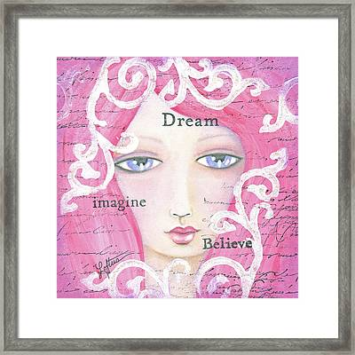 Dream Girl Framed Print by Joann Loftus
