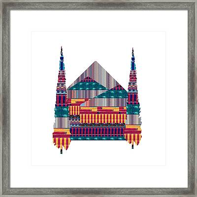 Dream Homes Buy Any Faa Product Or Download For Self-printing  Navin Joshi Rights Managed Images Gra Framed Print by Navin Joshi