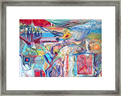 Dream House Framed Print by Konstantin  Dimitrov