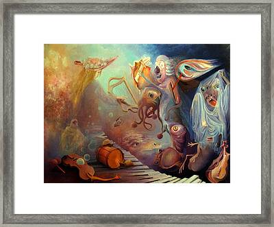 Dream Immersion Framed Print