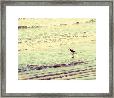 Dream In Aquamarine Framed Print by Amy Tyler