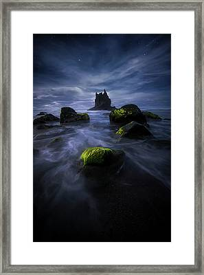 Dream In Benijo Framed Print