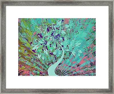 Dream In Color Framed Print by Cindy McClung
