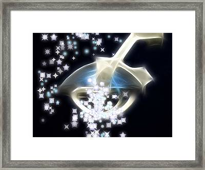 Dream Infusion Framed Print by Wendy J St Christopher