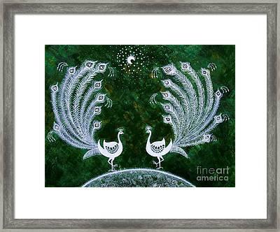 Dream Land Framed Print by Anjali Vaidya