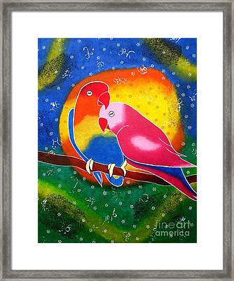 Dream Life-whimsical Painting Framed Print by Priyanka Rastogi