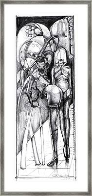 Dream Machine Framed Print by Ertan Aktas