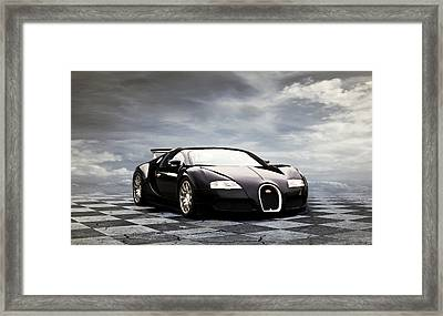 Dream Machine Framed Print by Peter Chilelli