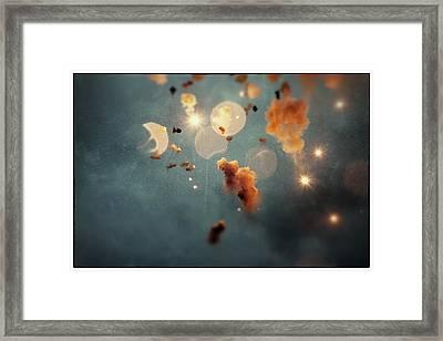 Dream Mascleta Valencia Framed Print by For Ninety One Days