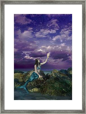 Dream Mermaid Framed Print by Alixandra Mullins