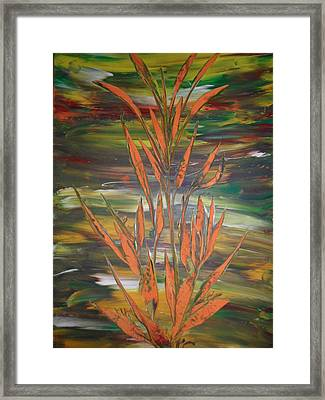 Framed Print featuring the painting Dream  by Nico Bielow