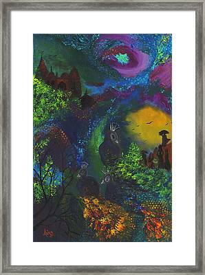 Dream Of India Framed Print