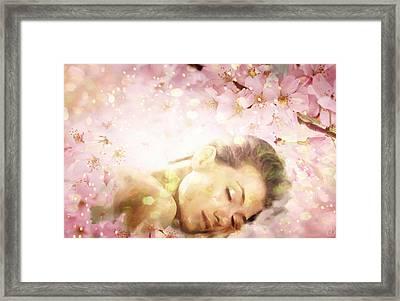 Dream Of Spring Framed Print by Gun Legler