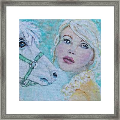 Dream On Dreamer Framed Print