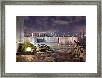 Dream On Until Tomorrow Framed Print