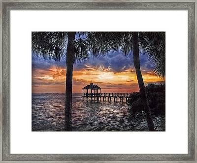 Dream Pier Framed Print by Hanny Heim