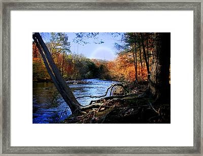 Dream River Framed Print by Mark Ashkenazi