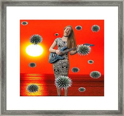 Dream Rock An Roll  Framed Print