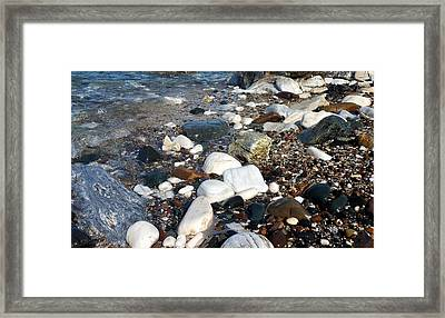 Dream Rocks Framed Print by Karen Horn