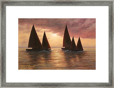 Dream Sails Framed Print