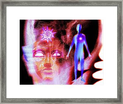Dream-scape Framed Print