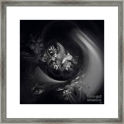 Framed Print featuring the digital art Dream State by Arlene Sundby
