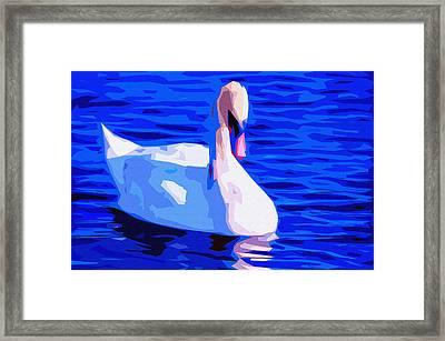 Dream Swan 2 Framed Print