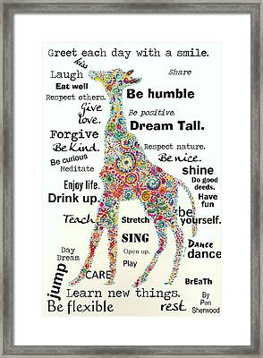Dream Tall Framed Print